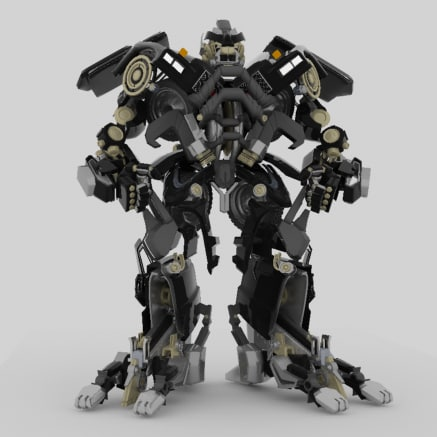 alien ironhide max
