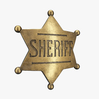 Sheriff Badge 01