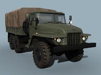 3d ural-375d truck