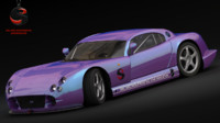 free tvr cerbera speed 12 3d model