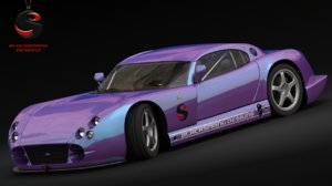 free tvr cerbera speed 12 3d model
