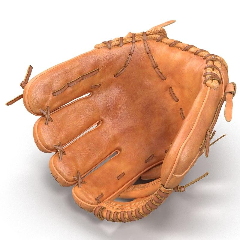 3ds baseball glove