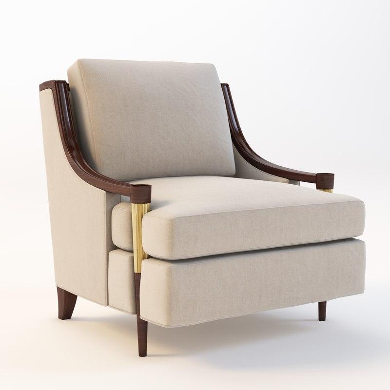 3d model baker signature lounge