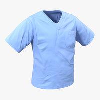 surgeon t-shirt 16 3d model
