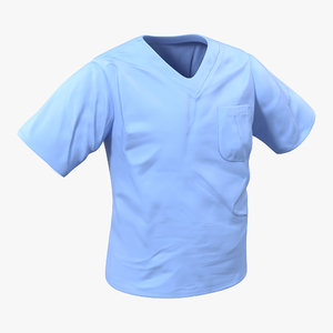 3d model surgeon t-shirt 16