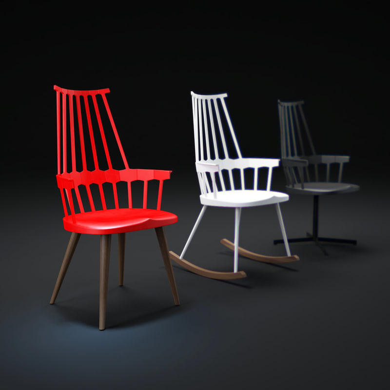 comback-chair 3d max