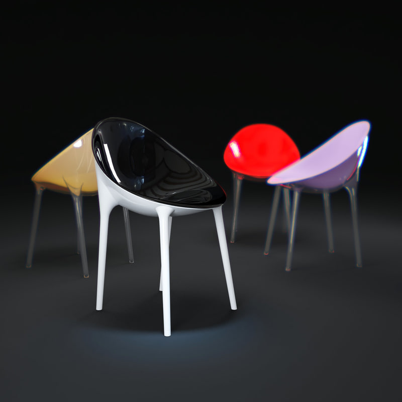 3d mr-impossible-chair model
