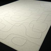 3d model script-carpet