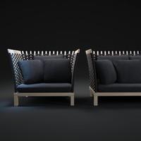 wabi-sofa 3d max