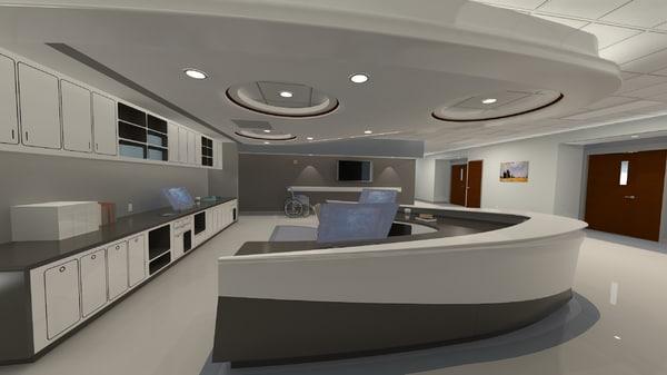 3ds max nursing station