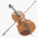 Violin 3D models