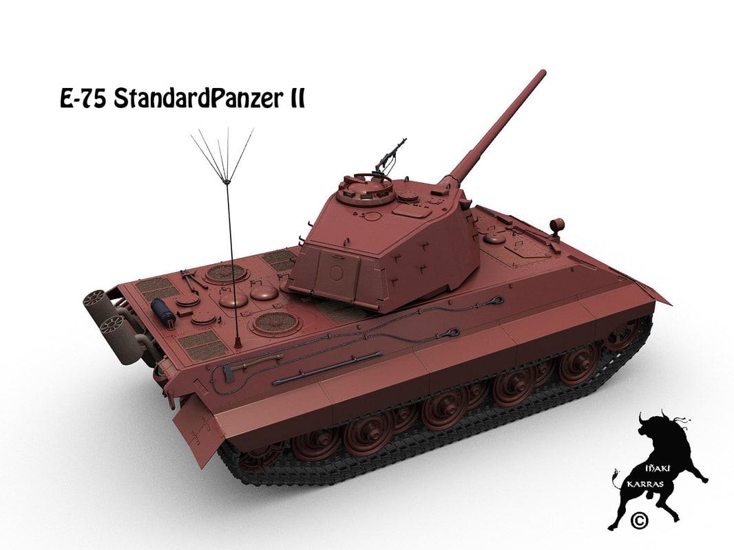 standardpanzer tiger iiww obj