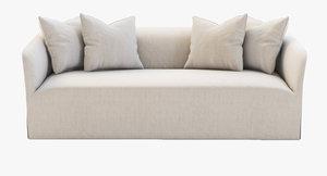 3d model castellammare sofa