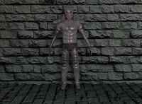 gladiator armor 3d 3ds