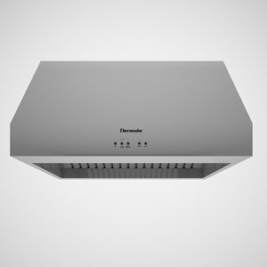 ventilation hood depth max