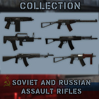 Soviet and Russian Assault Rifles Collection