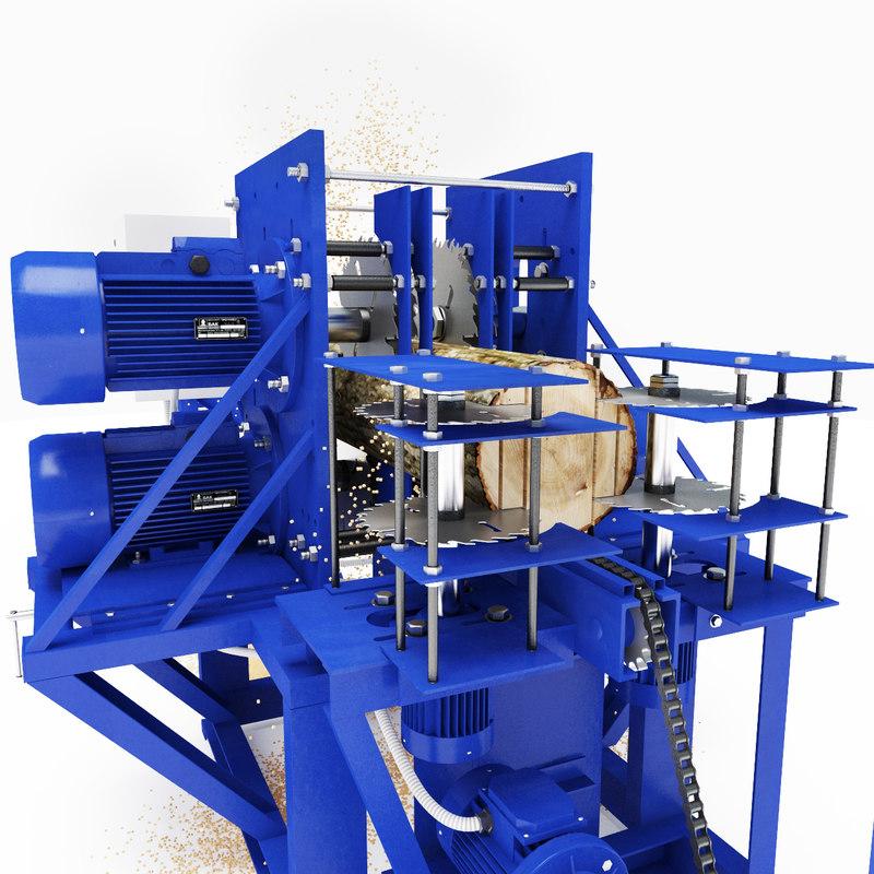 woodworking machine 3ds
