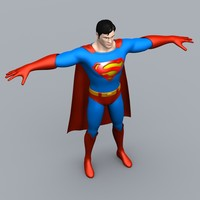 3d cartoon superman