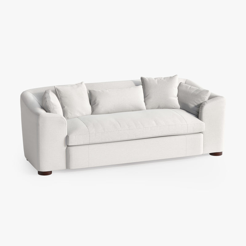 3d model of cove sofa