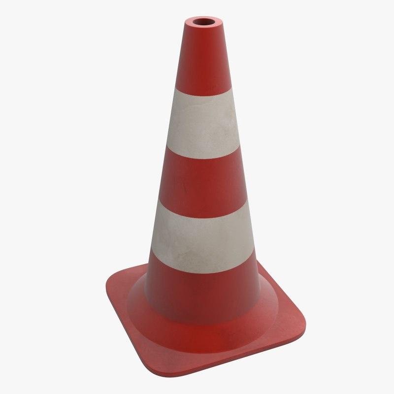 traffic cone obj