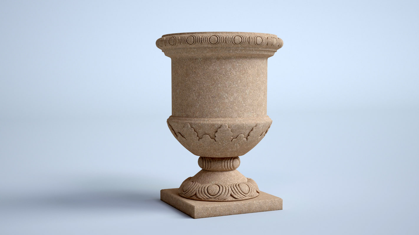 3d model of pot flowerpots