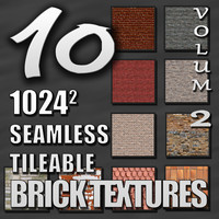 Seamless Tileable Brick Texture Pack Volume II