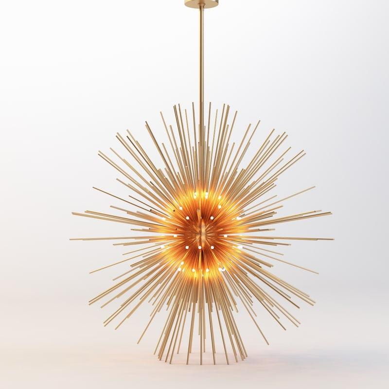 3d model adjust light spheres