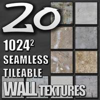 Pack of 10 Plaster Stucco Paint Wall Textures