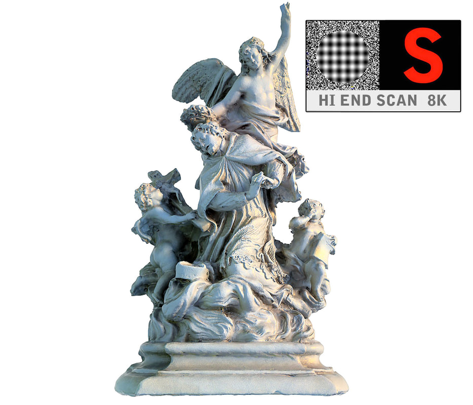3d model of angels vienna monument