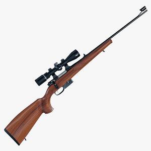 3d max rifle carabine cz 527