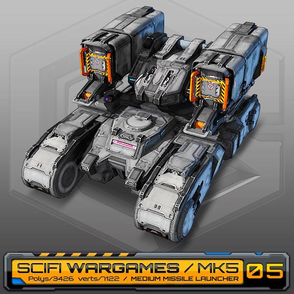 max scifi missile launcher mk5