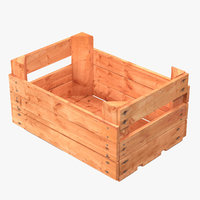 Wooden Fruit Crate 2