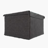 3dsmax cloth storage box