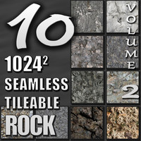 10 Seamless Tileable Rock Wall Cliff Texture Pack