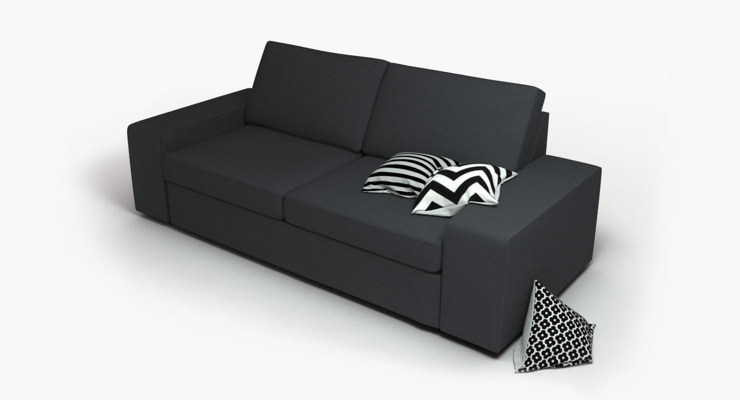 Max Ikea Kivik Sofa