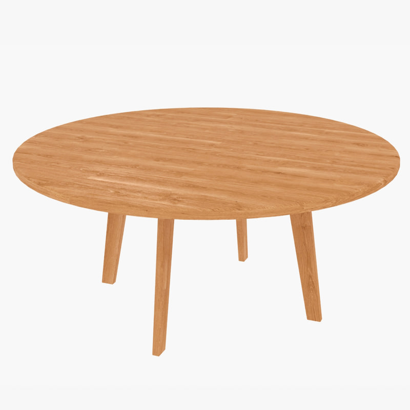 wooden coffee table 3d max