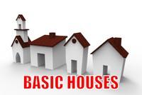 house basic 3d model