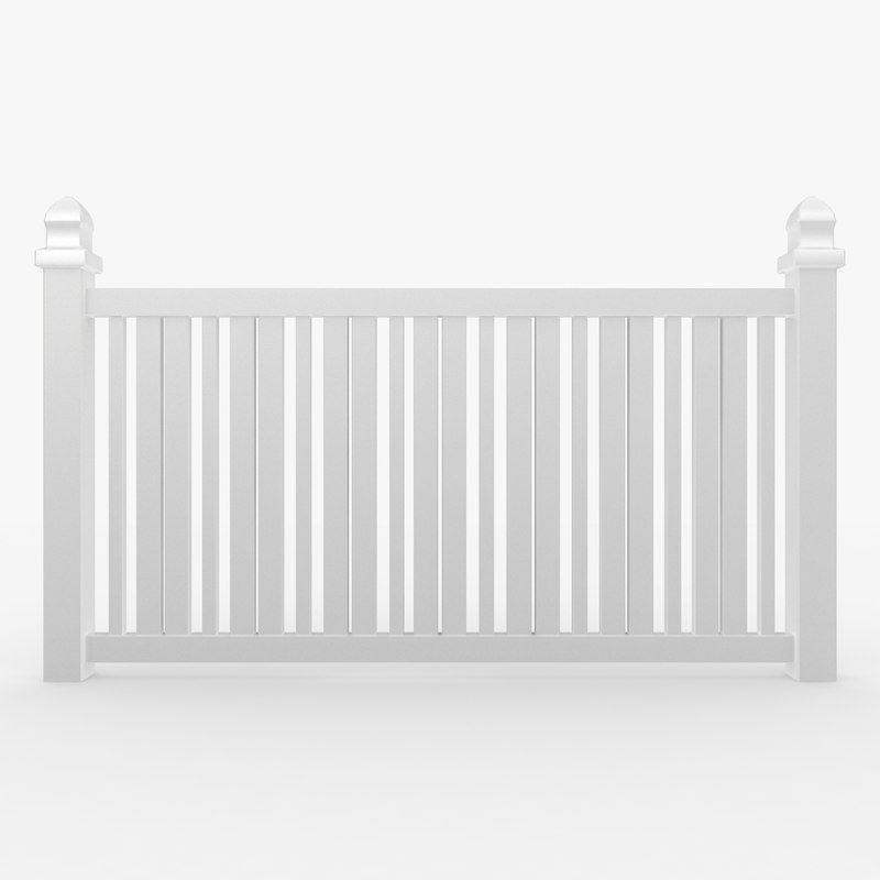 3d fence 02 model