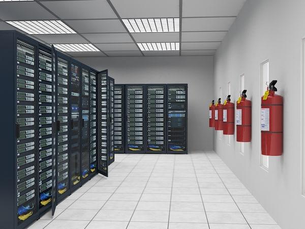 3d model communications room