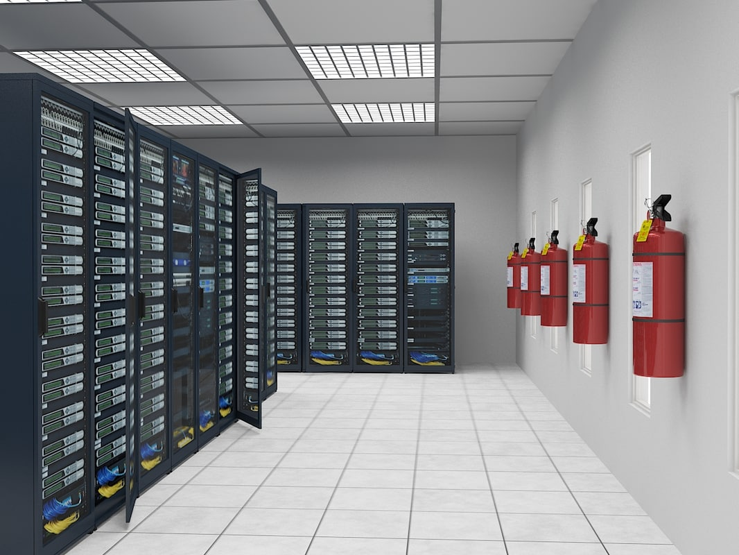 3d model communications room
