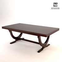 barbara barry dining table 3d max