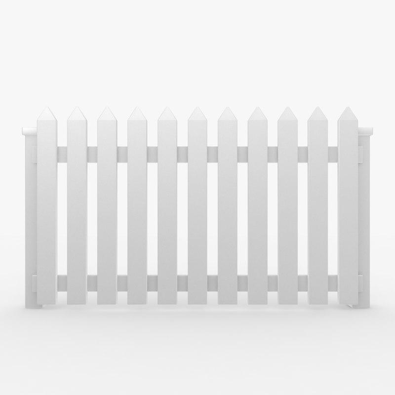 fence 04 3d model