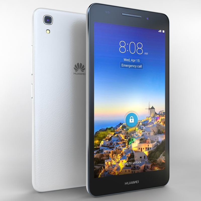 3d huawei snapto white model
