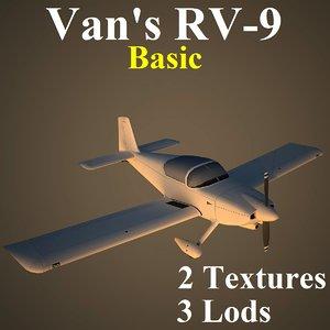 3d model of van basic