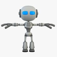 3d model robot 1