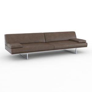 blumun busnelli sofa 3d x