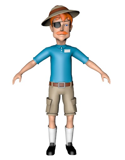 safari man 3d 3ds