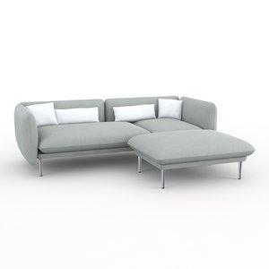 yuva padova sofa 3d model