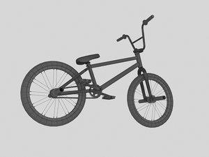 3d bmx bike model