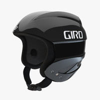 giro sestriere helmet black 3d model